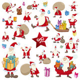 Big christmas collection Royalty Free Stock Photography