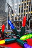 Big Christmas Lights Stock Photos