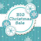 Big Christmas sale Stock Photography