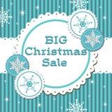 Big Christmas sale stock photography