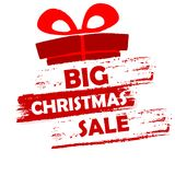 Big christmas sale Stock Images