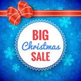 Big Christmas Sale Frame Stock Photos