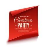 Big Christmas sale poster. Royalty Free Stock Photo