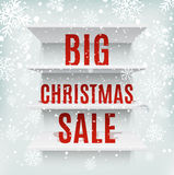 Big Christmas sale Stock Photos