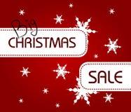 Big Christmas Sale Royalty Free Stock Photography