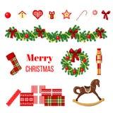 Big christmas set Royalty Free Stock Image