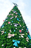 Big christmas tree Stock Photos