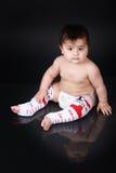 Big chunky  baby Stock Image