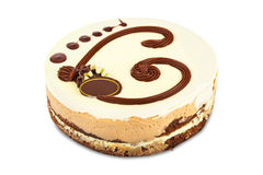 Big circle cake Royalty Free Stock Image