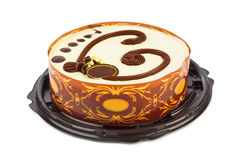 Big circle cake Stock Image