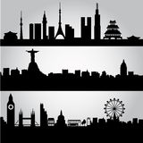 Big cities Stock Image