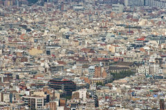 Big city stock image