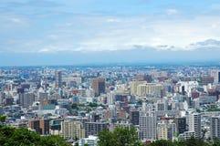 Big City. Bird's eye view Stock Photo