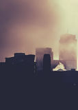 Big City Fog Stock Image