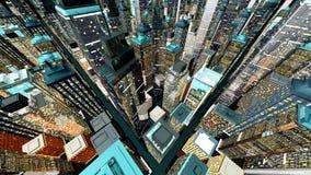 Big City Royalty Free Stock Photo
