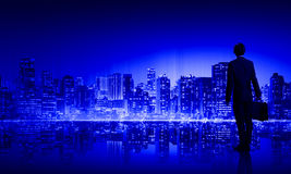 Big city life Royalty Free Stock Images
