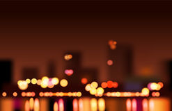Big City Lights Stock Photo