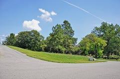 Big city park Stock Image
