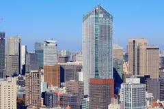 Big city skyline Stock Image
