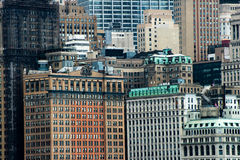 Big City Urban Area Background. Background scene of a big city like New York. Tall buildings and skyscrapers can be seen in this image royalty free stock images