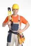 Big clamb constructor. Royalty Free Stock Photos