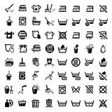 Big cleaning icons set Stock Photo