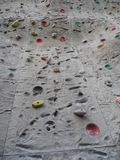 Big climbing wall Royalty Free Stock Image
