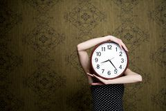 Big clock Royalty Free Stock Photography