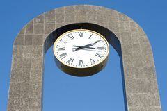 Big clock Stock Images