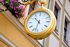 Big clock Stock Photo