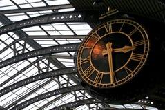 Big Clock. At York train station, England stock images