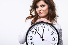 Big clock. Royalty Free Stock Photos