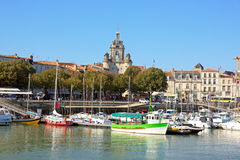 The Big Clock of La Rochelle(Charente Maritime France) Royalty Free Stock Photo