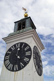 Big clock tower Royalty Free Stock Image