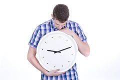 Big clock Stock Photos