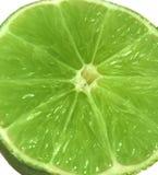 Big close up of a lemon Royalty Free Stock Image