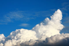 Big cloud Royalty Free Stock Photo