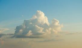 Big cloud and sunset sky Stock Photos