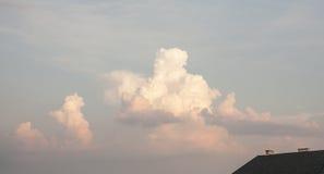 A big cloud. Stock Image