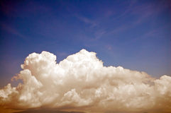 Big clouds Royalty Free Stock Photo