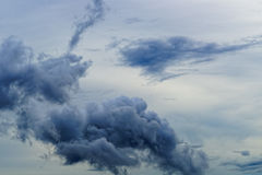 Big clouds. Stock Images
