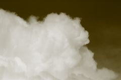 Big clouds. Stock Image