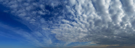 Big clouds Royalty Free Stock Images