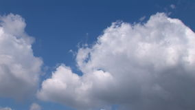 Big Clouds - Time Lapse 01 stock footage