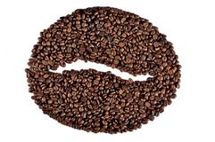 Big Coffee Bean Stock Images
