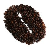 Big Coffee Bean Royalty Free Stock Images