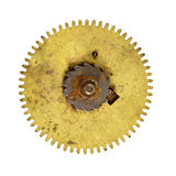 Big cog wheel on white background Royalty Free Stock Images