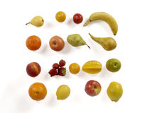Big collection fruits. Healthy food Royalty Free Stock Photo