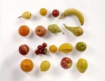 Big collection fruits. Healthy food. Big collection of vegetables and fruits. Healthy food, white Stock Image