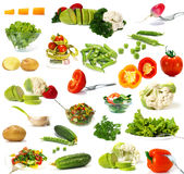 Big Collection Of Vegetables Royalty Free Stock Photography